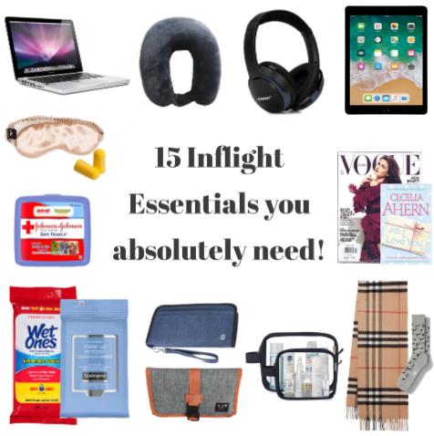 15 inflight essentials you absolutely need